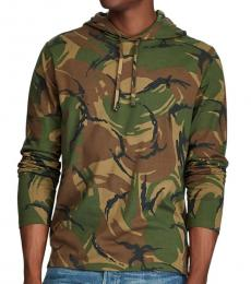 British Elmwood Camo Hooded T-Shirt
