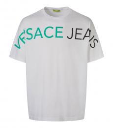 White Graphic Logo T-Shirt