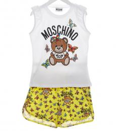 Moschino 2 Piece Top/Shorts Set (Girls)