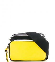 Givenchy Yellow MC3 Mini Crossbody