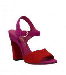 Salvatore Ferragamo Red Aede Heels