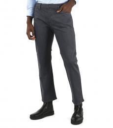 Armani Jeans Dark Grey Stretch Denim Jeans