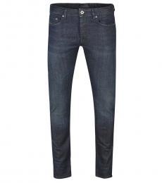 Diesel Dark Blue Skinny Leg Jeans