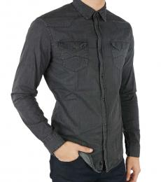 Armani Jeans Grey Denim Shirt