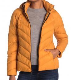 Michael Kors Marigold Short Packable Puffer Jacket