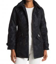 Michael Kors Navy Camo Soft Shell Jacket