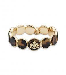Ralph Lauren Tortoise Gold Crest Bracelet