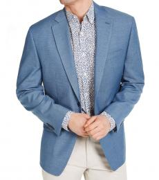 Michael Kors Blue Classic-Fit Sport Coat