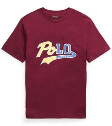 Ralph Lauren Boys Classic Cherry Logo T-Shirt