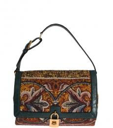 Dolce & Gabbana Multicolor Bonita Large Shoulder Bag