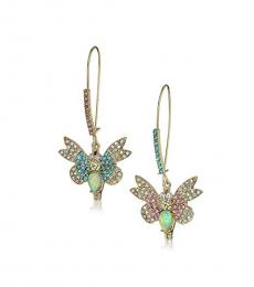 Multi color Butterfly Mismatch Delicate Earrings