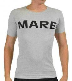 Grey Crewneck Short Sleeve T-Shirt