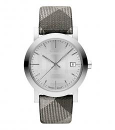 Burberry Shimmer Check Haymarket Watch