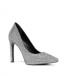 Anthracite Brielle Glitter Heels
