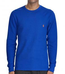 Ralph Lauren College Thermal Long Sleeve Pullover