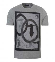 Grey Graphic Logo T-Shirt