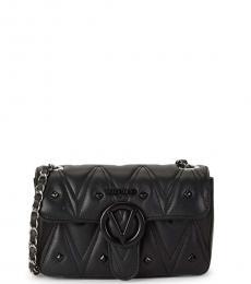 Mario Valentino Black Poisson D Sauvage Studded Small Shoulder Bag
