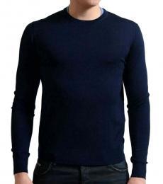Navy Blue Crewneck Sweater