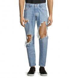 Diesel Denim Distressed Slim Skinny-Fit Jeans
