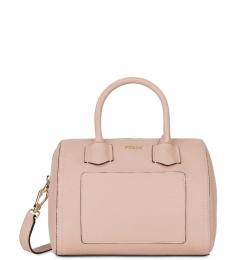 Furla Moonstone Pink Alba Small Satchel