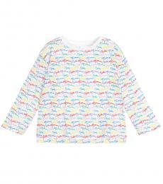 Stella McCartney Baby Girls White Signature T-Shirt