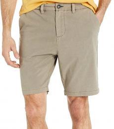 Brown Order Overdye Shorts