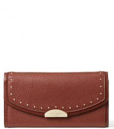 Kate Spade Port Brown Milou Briar Lane Small Shoulder Bag