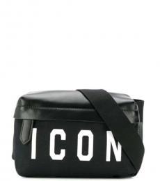 Dsquared2 Black Logo Belt Bag