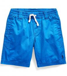 Little Boys Pacific Royal Twill Drawstring Shorts