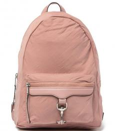 Rebecca Minkoff Vintage Pink Always On MAB Large Backpack