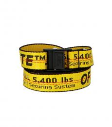 Off-White Yellow Classic Industrial Mini Belt