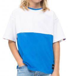 Calvin Klein Little Boys Blue Colorblock T-Shirt