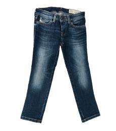 Diesel Girls Blue Super Skinny Jeans
