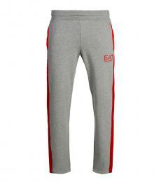 Emporio Armani Grey Logo Active Pants