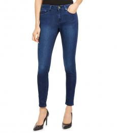 Michael Kors Denim High-Rise Stretch Skinny Jean