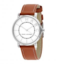Marc Jacobs Brown Logo Watch