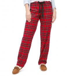 J.Crew Red Flannel Pajama Pant