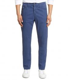 AG Adriano Goldschmied Dark Blue Everett Slim Straight Pants