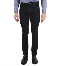Armani Jeans Black Regular Fit Jeans