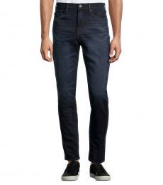 True Religion Navy Blue Mick Slouchy Skinny-Fit Jeans