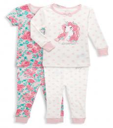 Betsey Johnson 4 Piece T-shirt/Pajama Sets (Baby Girls)