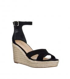 Ralph Lauren Black Halda Wedges