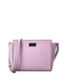 Light Purple Prospect Place Medium Crossbody