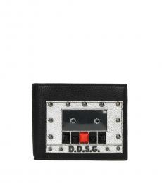 Dolce & Gabbana Black Stud Modish Wallet