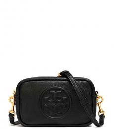 Tory Burch Black Perry Bombe Mini Crossbody