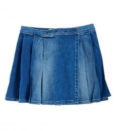Diesel Little Girls Denim Glorix Skirt