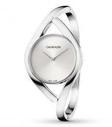 Calvin Klein Silver Classic Bangle Ritzy Watch
