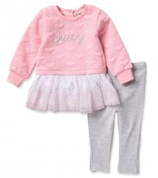 Juicy Couture 2 Piece Tunic/Leggings Set (Baby Girls)