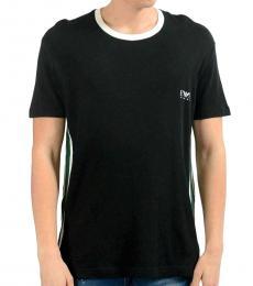 Black Crewneck Logo T-Shirt