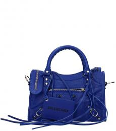 Blue City Small Satchel
